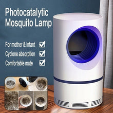Load image into Gallery viewer, USB Photocatalystic Mosquito Killer Lamps Fly Trap Lamp Insect Repellent Killer Anti Mosquito Bug Zapper Home Living Room Pest Control