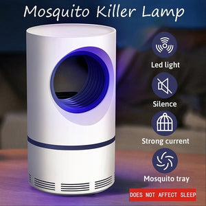 USB Photocatalystic Mosquito Killer Lamps Fly Trap Lamp Insect Repellent Killer Anti Mosquito Bug Zapper Home Living Room Pest Control