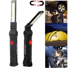 Load image into Gallery viewer, LED COB Rechargeable Magnetic Torch Flexible Inspection Lamp Cordless Work Light Emergency Lamp