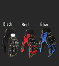 Load image into Gallery viewer, Motorcycle Bicycle Riding Gloves Cross-country Protective Equipment Racing Gloves (Carbon Fiber Touch Screen Motorcycle Riding Tribal Equipment)