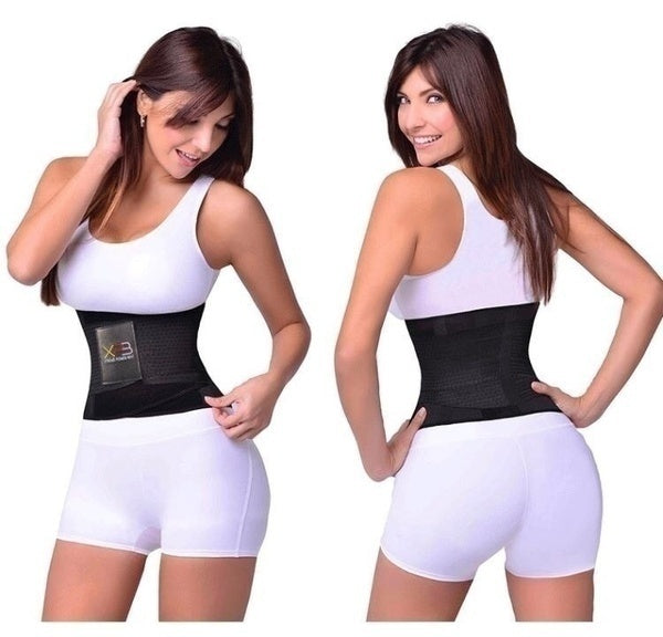 New Xtreme Belt Hot Power Slimming Belt Body Shaper Waist Trainer Trimmer Sport Gym Suana Sweating Fat Burning Slimming