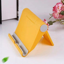 Load image into Gallery viewer, Mobile Phone Bracket Tablet Universal Lazy Bracket Ipad Desktop Multi-function Foldable Portable Phone Bracket