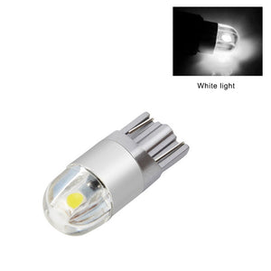 10pcs/Set T10 3030 2SMD Super Bright LED Lamp Wedge 3030 2 SMD Interior Light Bulb 12V Amber DC 12V