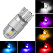 Load image into Gallery viewer, 10pcs/Set T10 3030 2SMD Super Bright LED Lamp Wedge 3030 2 SMD Interior Light Bulb 12V Amber DC 12V