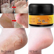 Load image into Gallery viewer, Horse Oil Hand and Foot Repair Cream Athletes Foot Licking Foot Odor Repair Anti-drying Hand and Foot Care