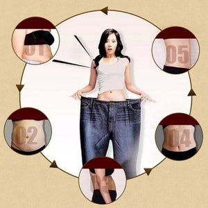 Traditional Chinese Medicine Burning Fat Weight Loss Slimming Slimming Diets Slim Patch Healthy Detox Glue Sheet Fat Burning