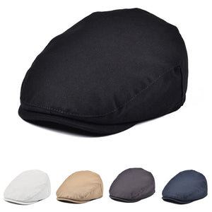 JANGOUL Boys Vintage Newsboy Cap Cotton Flat Beret Cabbie Hat for Kids Toddler Pageboy New4