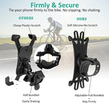 OWILL Bicycle Phone Holder For iPhone XS Max 7 Samsung Universal Motorcycle Phone Holder Bike Handlebar Stand Support Bracket