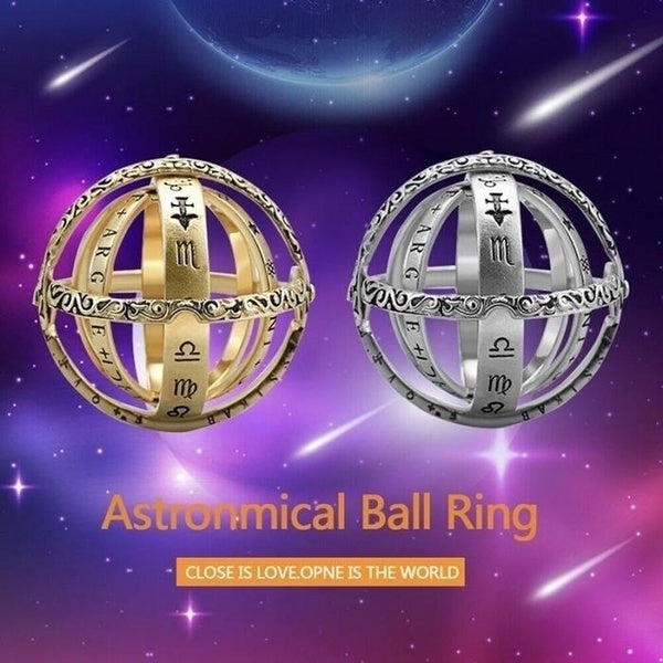 Chic High Quality Astronomical ball fashion ring  925 Sterling Silver Wedding Engagement Ring Man's Jewelry Gifts Proposal Bridal Engagement Party Band