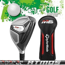 Load image into Gallery viewer, Irons Hybrids 2019 New Golf Right Hand Club M6 Rescue Golf Iron Wood Fairway Number 3-6 19¡ã-28¡ã