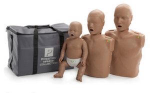 CPR Manikin Set Prestan Professional Collection (1 Adult/1 Child/1 Infant)