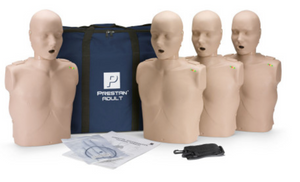 CPR Manikin Prestan® Adult Manikin, 4 Pack Adult with Monitor