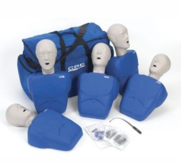 Used CPR Prompt® Adult/Child 5-Pack BLUE