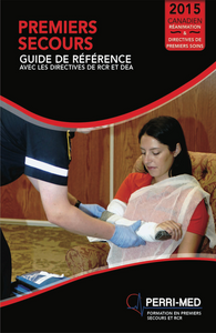 First Aid, CPR and AED Manual - French