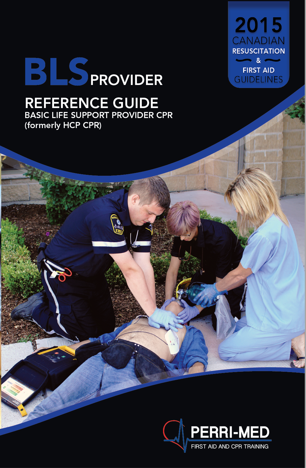 BLS Provider and AED Manual