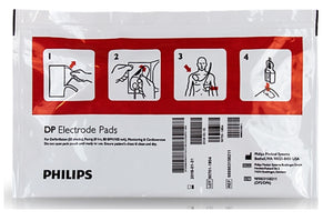 Philips HeartStart FR2 Defibrillation Electrode Pads (1 pair) - Adult