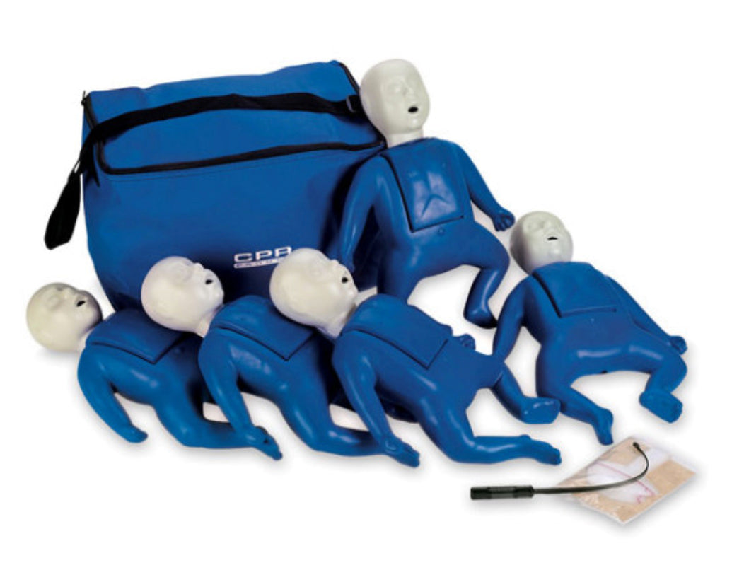 Used CPR Prompt Infant Manikins 5-Pack