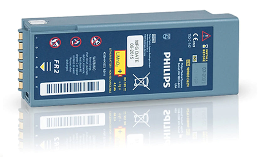 Philips Heartstart FR2 Aviation Battery