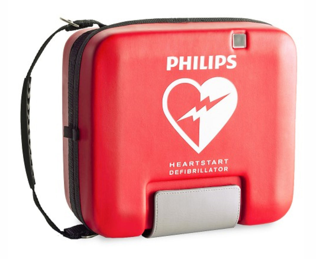 Philips HeartStart FR3 AED Soft System Case (includes pads sentry) - red