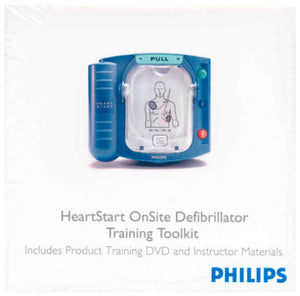 Philips HeartStart FR2+ Defibrillator DVD/CD - Instructor's Training Toolkit