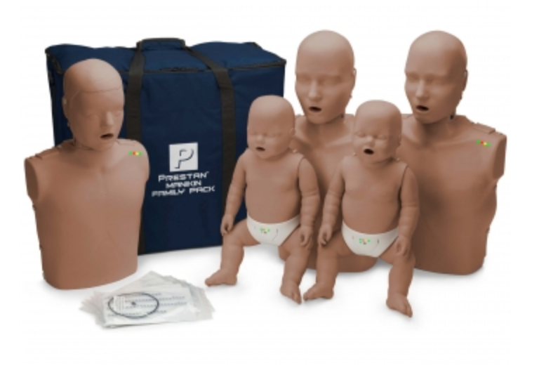 CPR Manikin Prestan Professional Family Pack 2 Adult/1 Child/2 Infant