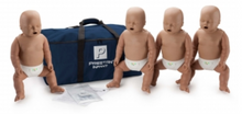 Load image into Gallery viewer, CPR Manikin Prestan Infant 4 Pack with CPR Monitor