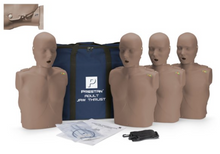 Load image into Gallery viewer, CPR Manikin Prestan Professional Adult Jaw Thrust (4-Pack) with CPR Monitor