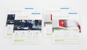 AED Awareness Poster Pack (English)
