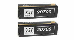 Authentic IJOY 20700 3.7V 3000mAh Rechargeable Batteries (2-Pack)