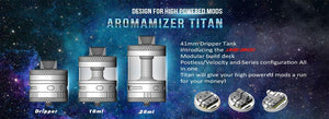 Steam Crave Aromamizer Titan RDTA In Stock
