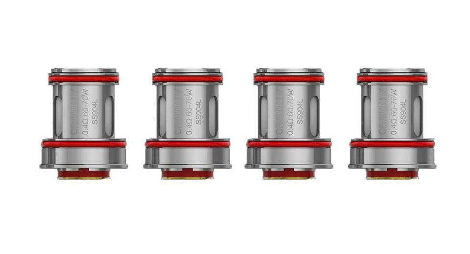 Authentic Uwell Crown 4/IV Replacement Coil(4-Pack) In Stock