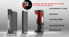 Load image into Gallery viewer, Dovpo Topside Lite 90W Squonk Mod In Stock