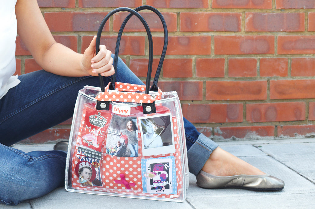 Clippy Photo Display Bag - Small (12 Photos in 12 pockets)