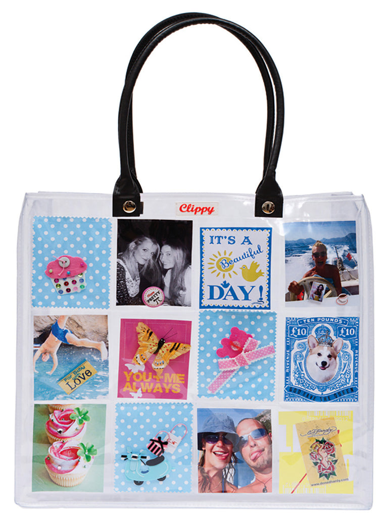 Style Your Own Large Photo Bag