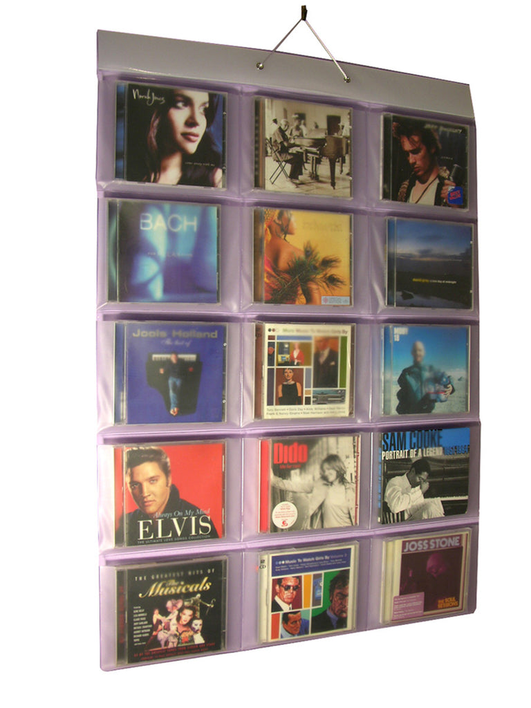 CD Holder (30 CDs in 15 pockets)