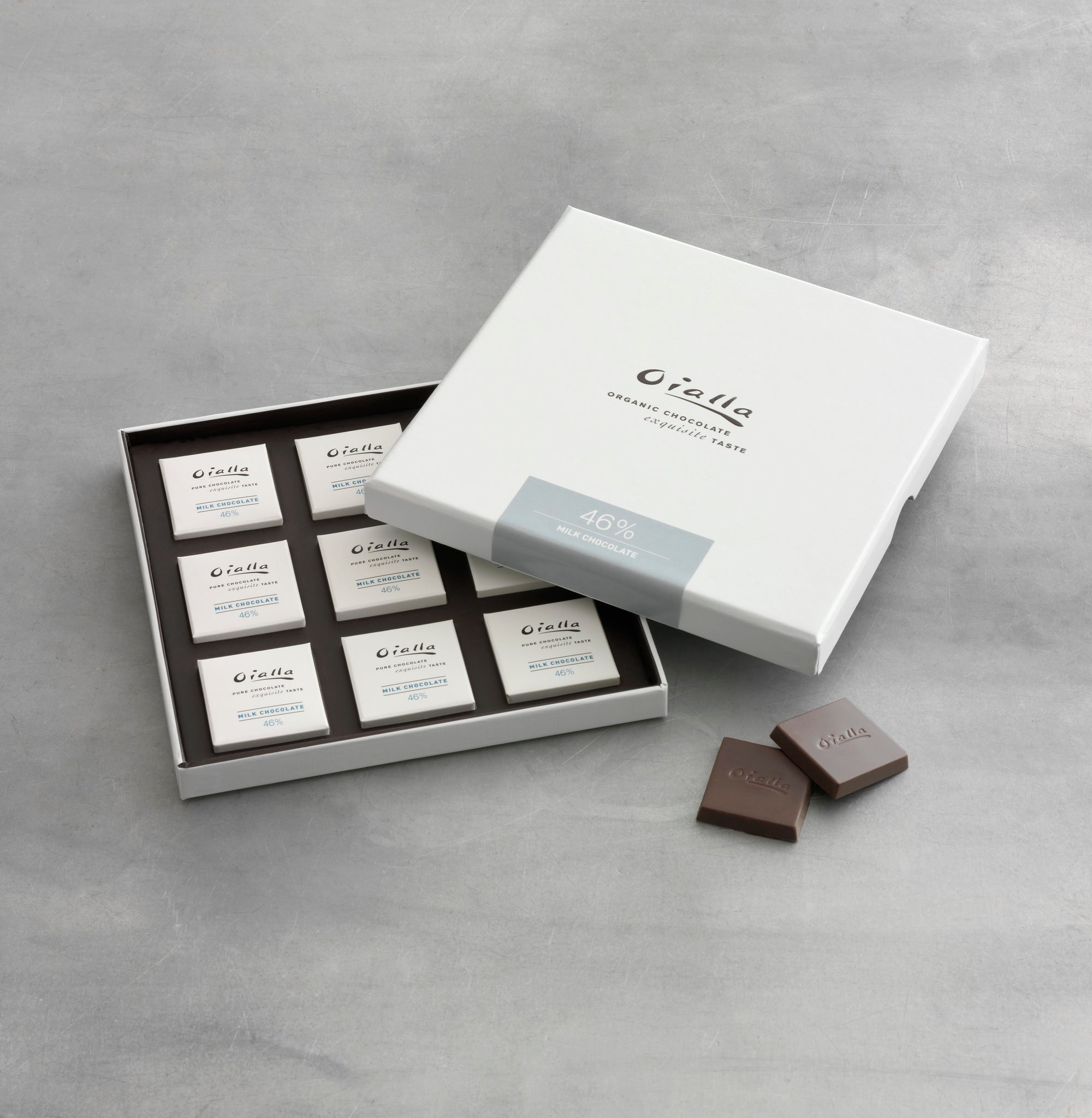 Gift box - 46% organic milk chocolate