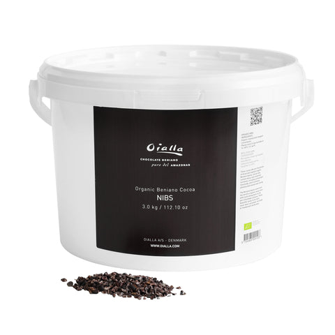 Organic Beniano cocoa nibs, 3 kg - in a box / NOT IN STOCK!!