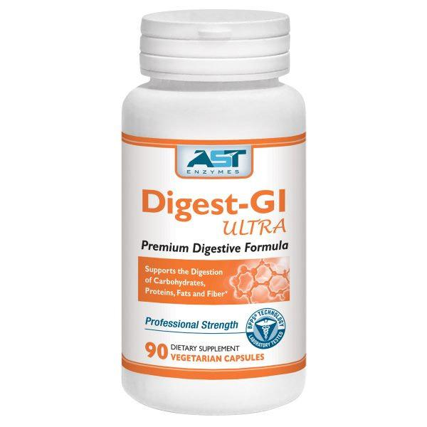 Digest-GI Ultra 90 Capsules Enzymes AST
