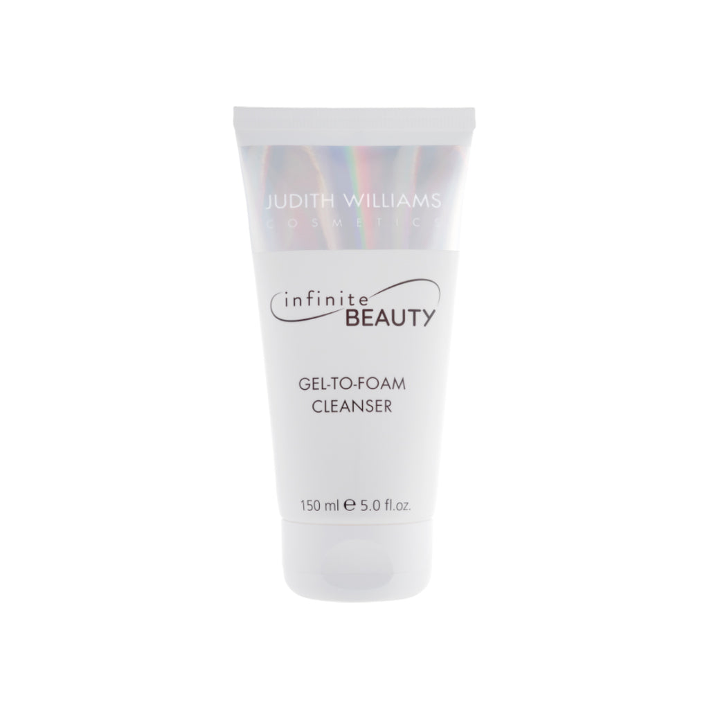JUDITH WILLIAMS INFINITE BEAUTY GEL-TO-FOAM CLEANSER - 150ML