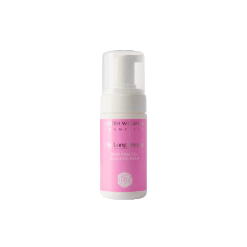Judith Williams Life Long Beauty Rose Stem Cell Cleansing Foam - 100ml