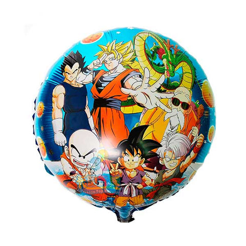 Globo metalizado Dragon ball z  45cm