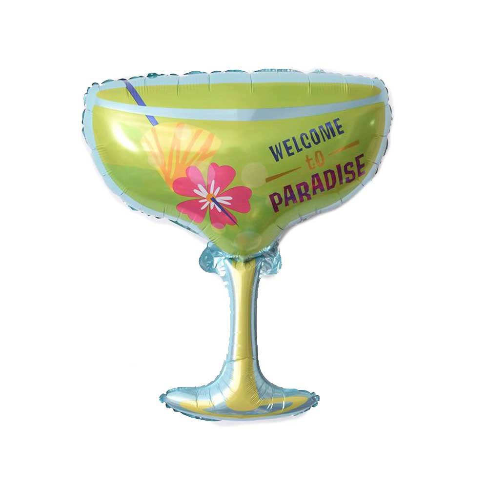 Globo metalizado cocktail margarita 61 x 76 cm