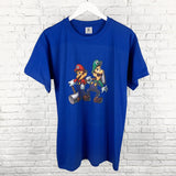 Mario and Luigi Graphic T-Shirt