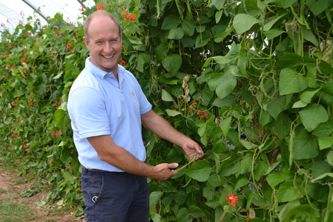 3.On the farm, Jeremy Price keeps the farm shop supplied with freshly picked farm fresh fruit and veg