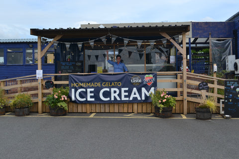 2.Award winning ice cream and sorbets available from the ice cream shack at Oakchurch