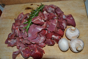 1 lb pack of Diced Stewing Lamb