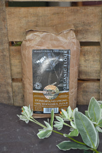 Organic 100% Stoneground Wholemeal Bread Flour