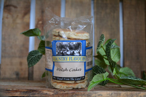 Country Flavours Welsh Cakes 8 Pack