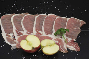 Oakchurch Free Range Back Bacon (230-250gms)