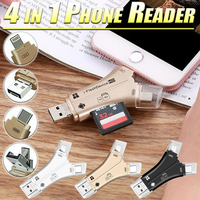4 in 1 Phone Reader